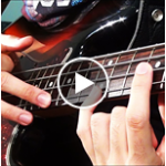 Rock Shredding and Sweep Picking on Bass