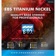 Струны EBS TN-ML 4-strings (40-100) Titanium Nickel