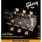 Gibson SEG-LP10 LES PAUL PURE NICKEL WOUND .010-.046