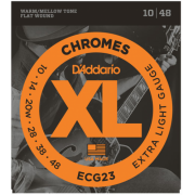 D`Addario ECG23 XL Chromes Extra Light (10-48)