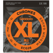 D`Addario ECG26 XL XL Chromes Medium (13-56)