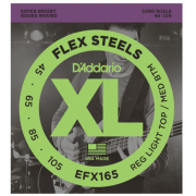 D`Addario Efx165 Xl Flex Steels Reg Light Top / Med Bottom 45-105