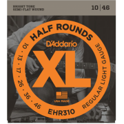 D`Addario EHR310 XL Half Rounds Regular Light 10-46