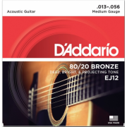 D`Addario EJ12 80/20 Bronze Medium 13-56