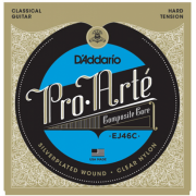 D`Addario EJ46C PRO-ARTE Composites Hard Tension