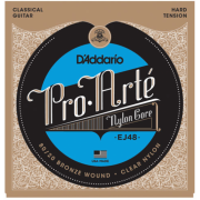D`Addario EJ48 PRO ARTE 80/20 Bronze Wound Hard Tension