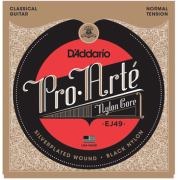 D`Addario EJ49 PRO-ARTE Black Treble Normal Tension