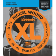 D`Addario EKXL110 XL REGULAR LIGHT REINFORCED (10-46)