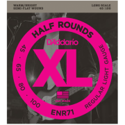 D`Addario ENR71 XL Nickel Half Rounds Bass 45-100