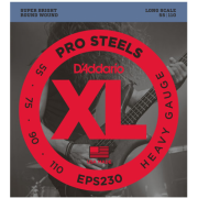 D`Addario EPS230 XL Pro Steels Bass Heavy 55-110
