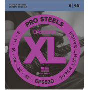 D`Addario EPS520 XL Pro Steels Super Light 09-42