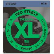 D`Addario EPS530 XL Pro Steels Extra Super Light 08-38