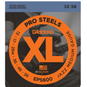 D`Addario EPS600 XL Pro Steels Jazz Medium 13-56