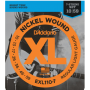 D`Addario EXL110-7 XL Regular Light 7-String (10-59)