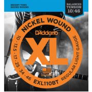D`Addario EXL110BT XL Nickel Balanced Tension, Regular Light (10-46)
