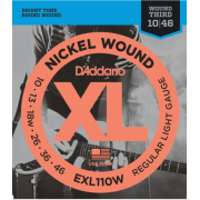 D`Addario EXL110W Regular Light Wound 3rd (10-46)