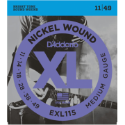 D`Addario EXL115 XL Blues/Jazz Rock (11-49)