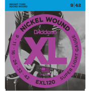 D`Addario EXL120 XL Super Light (09-42)
