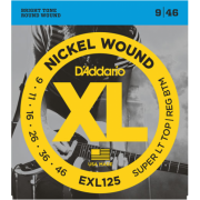D`Addario EXL125 XL Super Top / Regular Bottom (09-46)