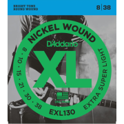 D`Addario EXL130 XL Extra Super Light (08-38)
