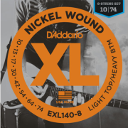 D`Addario EXL140-8 Light Top / Heavy Bottom 8 String (10-74)