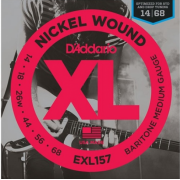 D`Addario EXL157 XL Baritone Medium (14-68)