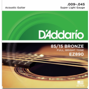 D`Addario EZ890 Bronze Super Light 9-45