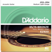 D`Addario EZ920 Bronze Medium Light 12-54