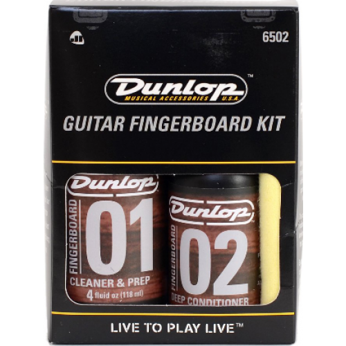 Средство по уходу Dunlop 6502 GUITAR FINGERBOARD KIT (Для очистки накладки грифа)