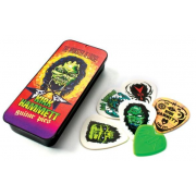 Медиаторы Dunlop KH01T088 KIRK HAMMETT SIGNATURE PICK TIN MONSTER LOOSE 0.88