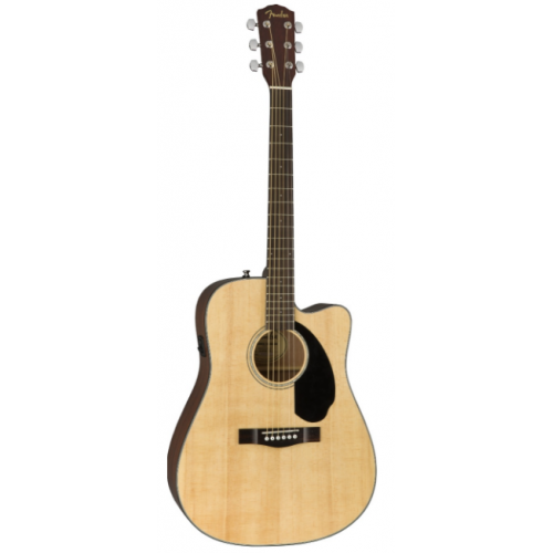 Электроакустическая гитара Fender CD-60SCE NATURAL