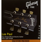 Gibson SEG-LP9 LES PAUL PURE NICKEL WOUND .009-.042