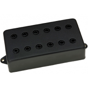 Звукосниматель Dimarzio DP100FKK SUPER DISTORTION F-SPACED (BLACK COVER)