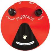 Педаль эффектов Dunlop JD-F2 Fuzzface Distortion