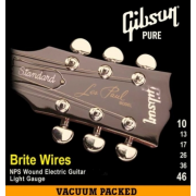 Gibson SEG-700L BRITE WIRES NPS WOUND ELECT. .010-.046