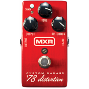 Педаль эффектов Dunlop M78 MXR Custom Badass '78 Distortion