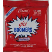 GHS Strings CB-GBXL EL GTR,COATED BOOMER,EXTRA LIGHT,009